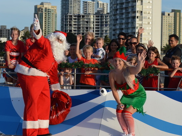 Sea World Cruises' Exclusive Interview with Santa