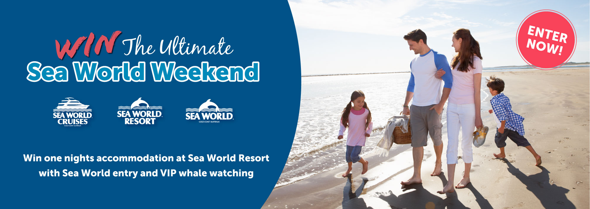 WIN The Ultimate Sea World Weekend